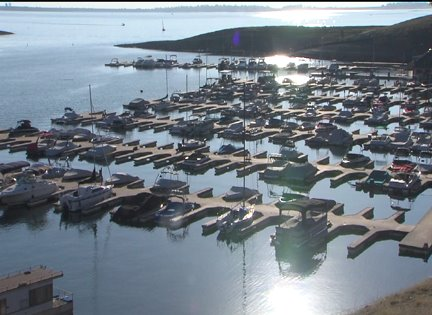 Boaters Disembarking from Folsom Lake Early