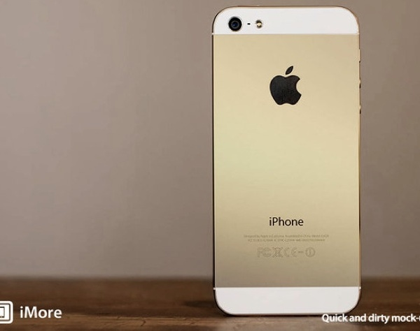 "A gold-colored iPhone is just one of the announcements rumored to be on the agenda for Apple's ""special event"" Tuesday. (iMore / September 9, 2013)"