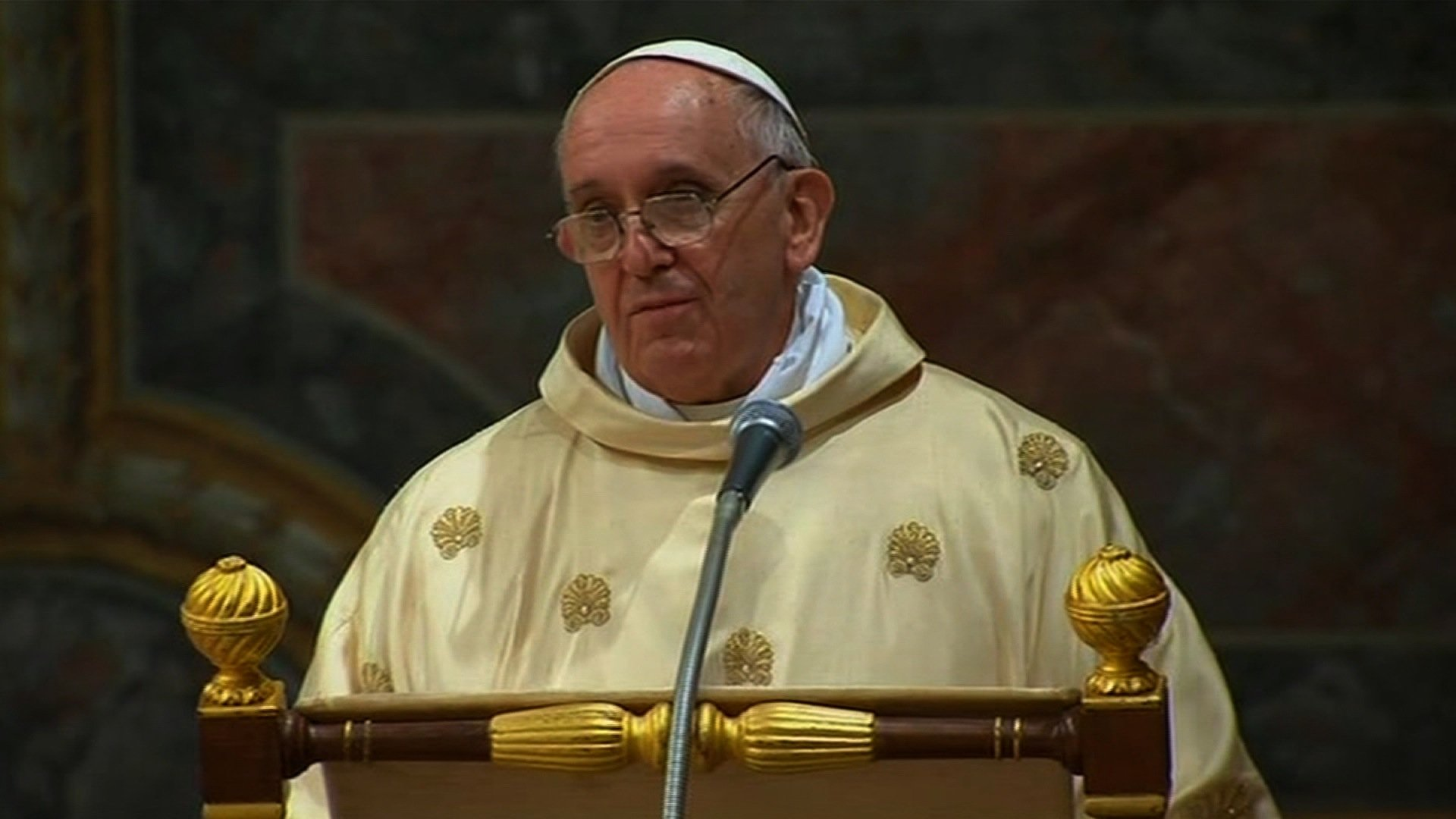 Pope Francis' First Mass