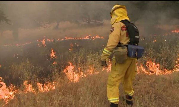 Sand Fire Rages on While Crews Figure out its Origins