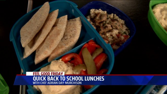Quick & Healthy Back-to-School Lunches for Teens