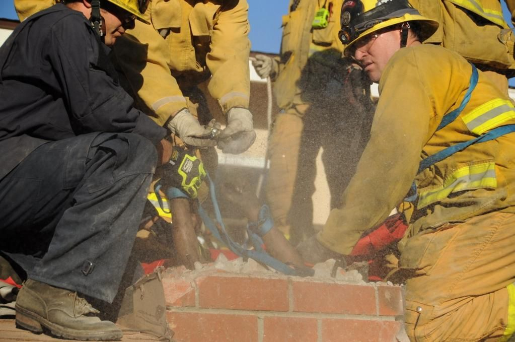 Firefighters rescue naked woman trapped in ex-boyfriends