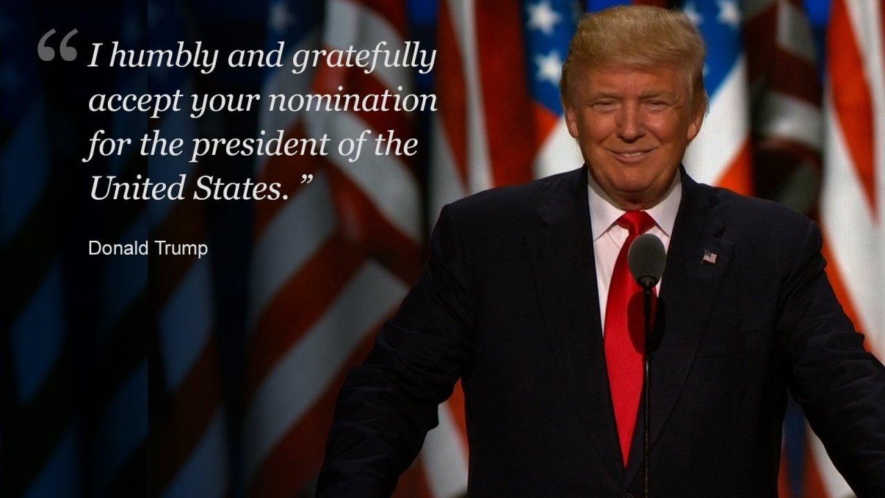 Donald trumps speech