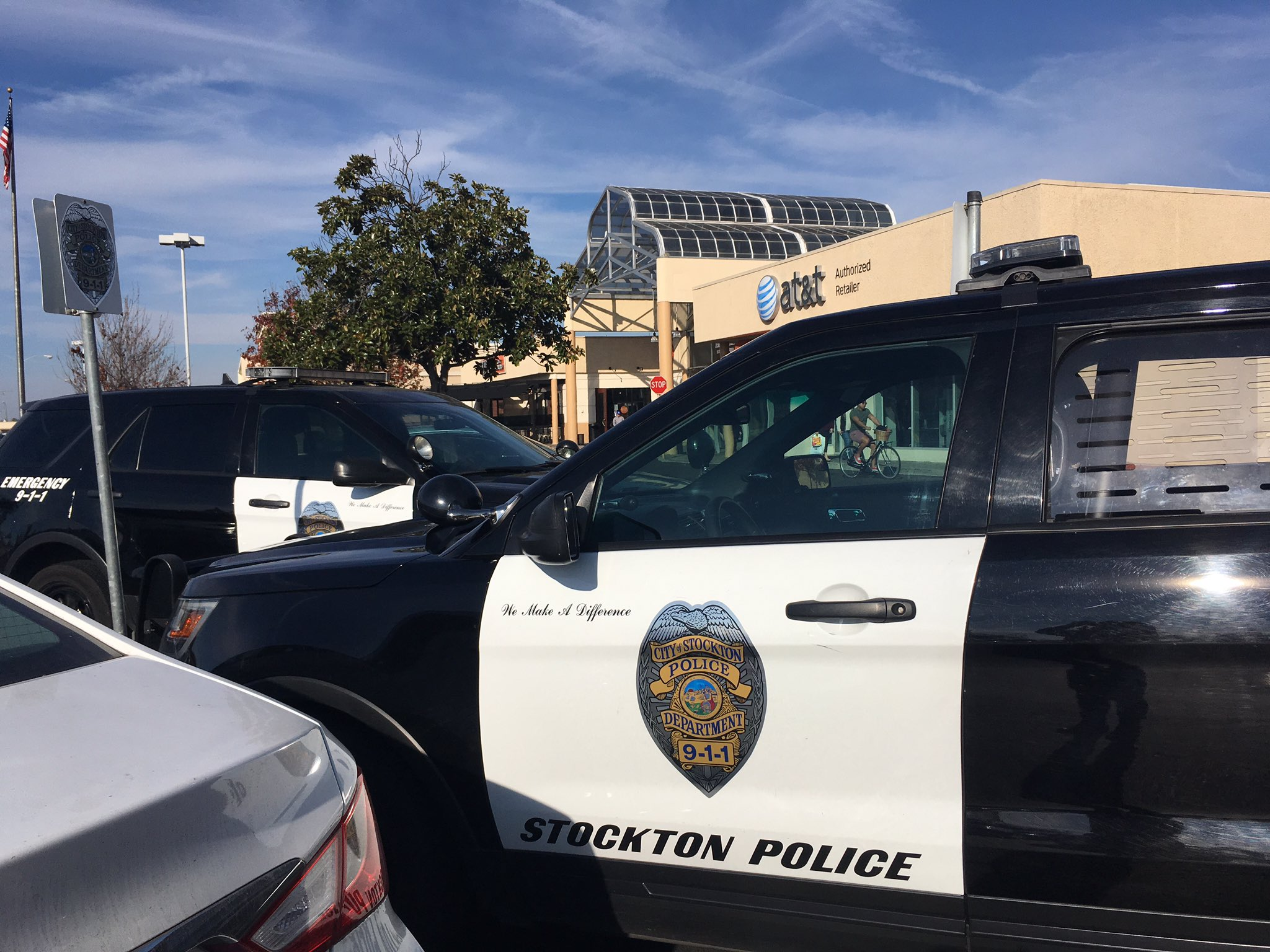 Image result for Stockton mall closes after dozens of teens confront security guard