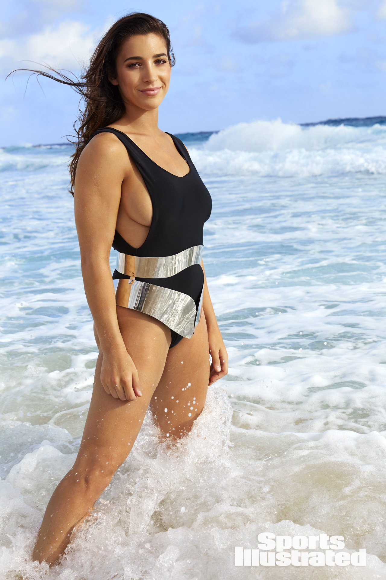 Aly Raisman SI Swimsuit 2018 outtakes - Swimsuit   SI.com