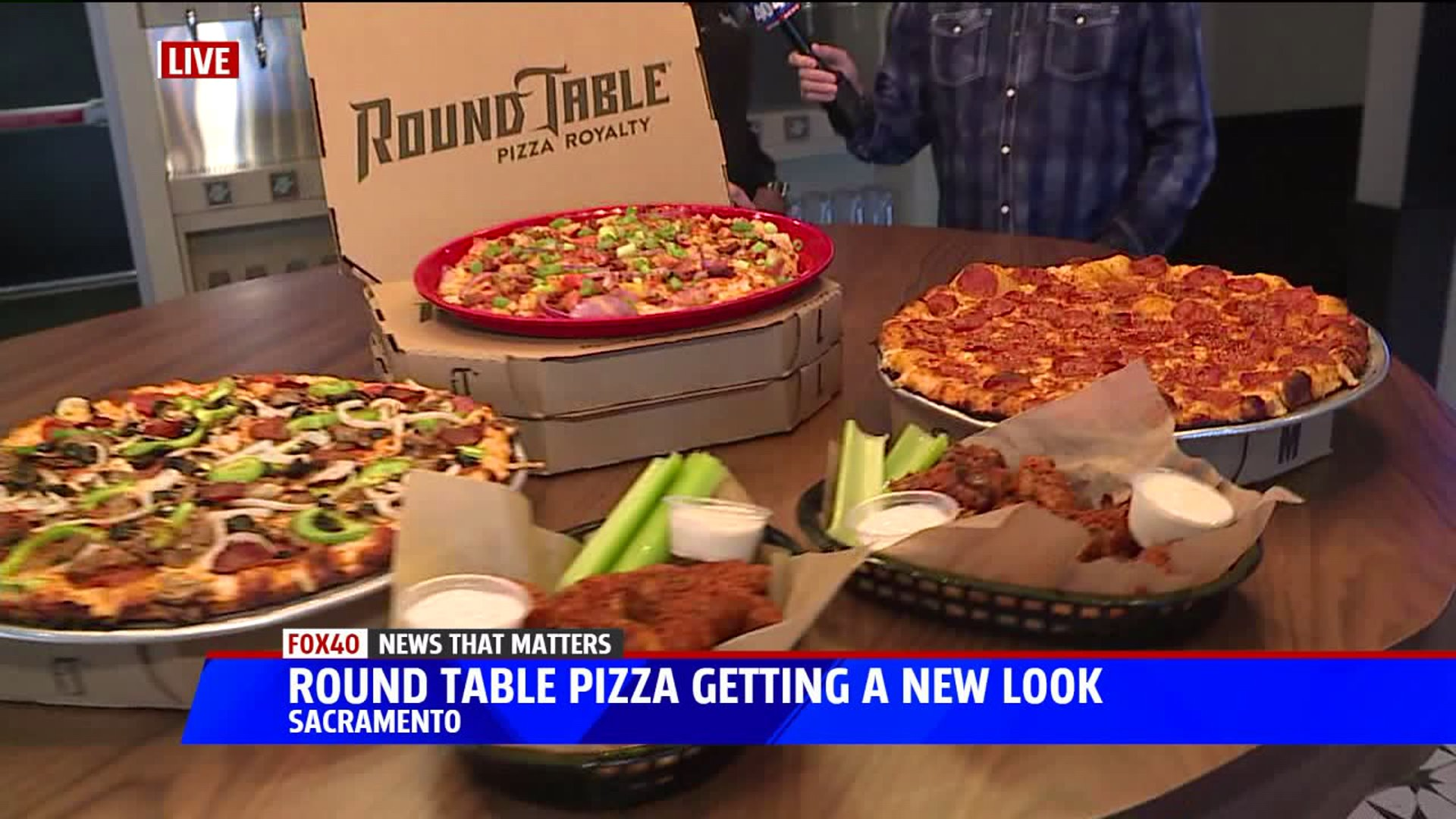 Florin Road Round Table First To Sport New Look Fox40