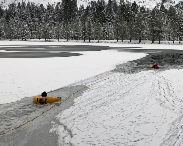 Man dies after falling through ice on Lake Willoughby