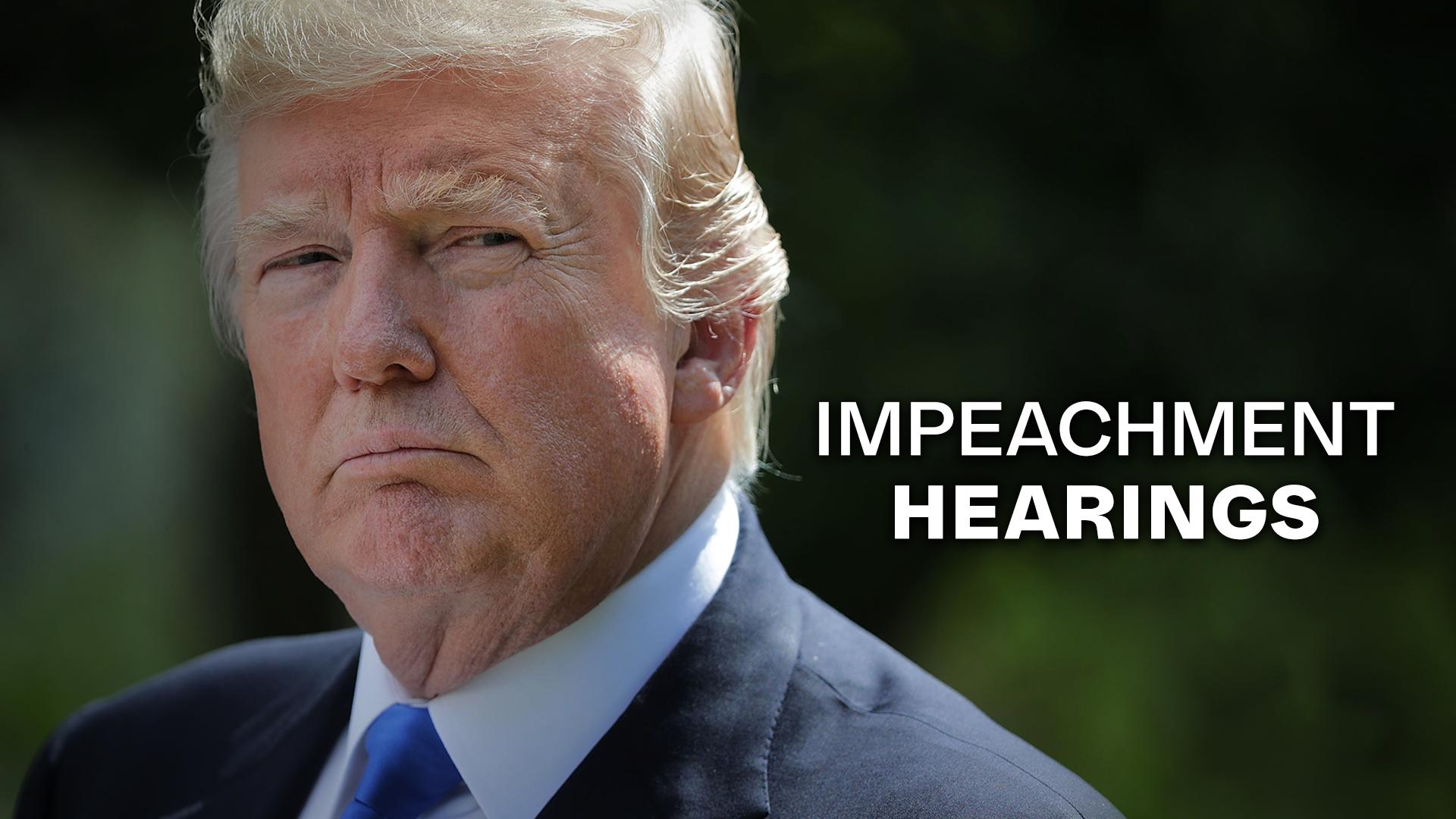 Live Trump Impeachment Hearings ...
