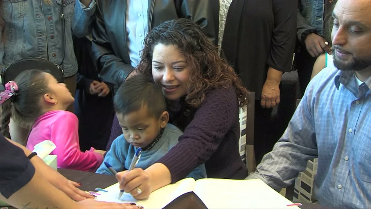 fox40.com: 22 kids adopted by new families during San Joaquin County's annual 'Adoption Saturday' celebration