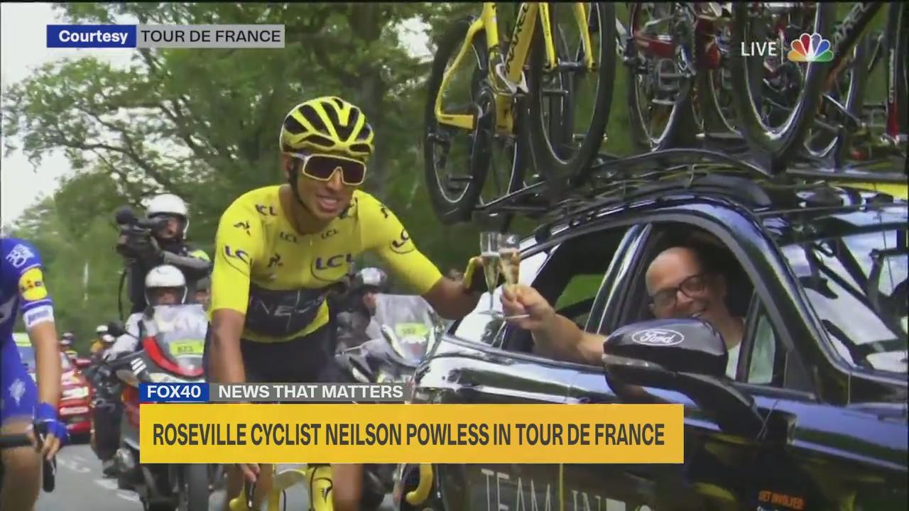 Interview Roseville Cyclist Neilson Powless In Tour De France