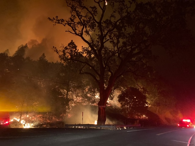 Fire prompts evacuations in Napa County