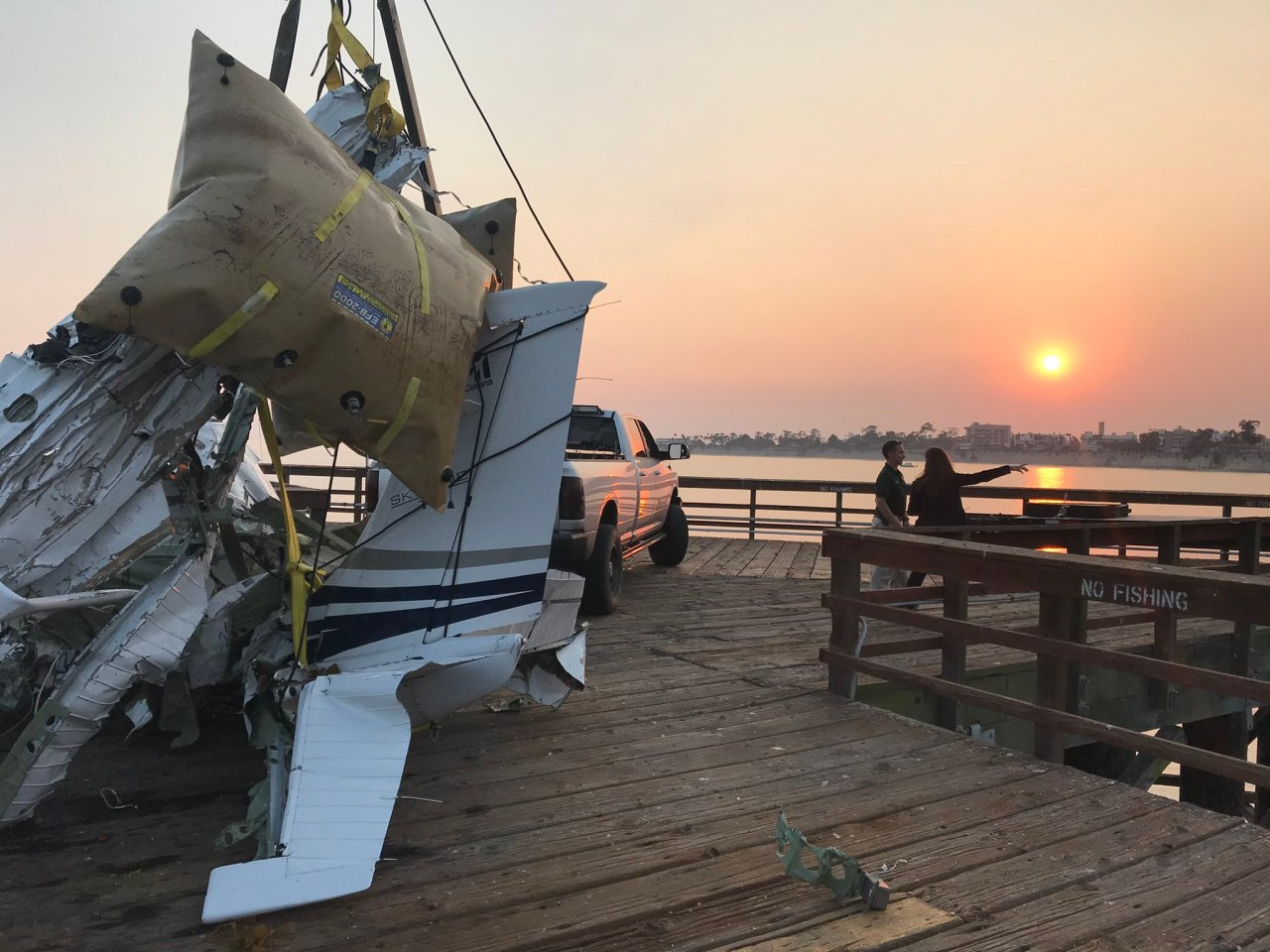Body of Tahoe attorney, plane wreckage found off California coast