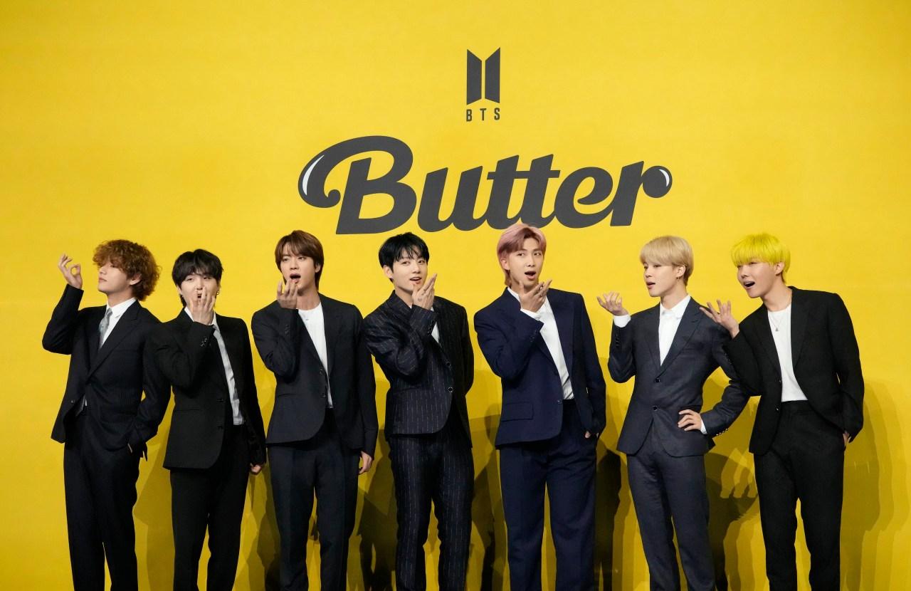 K pop sensation BTS releases new summer single 'Butter'