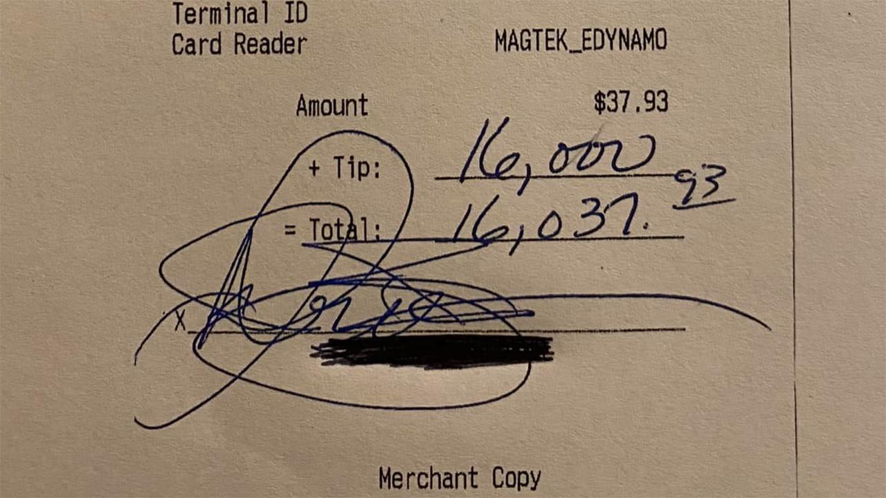 Anonymous Customer Leaves ,000 Tip for Restaurant Suffering Coronavirus Repercussions